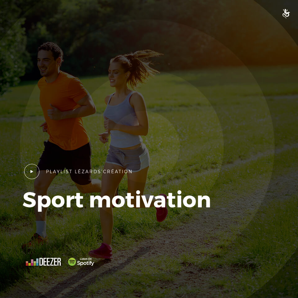 Sport motivationpar Lézards Création agence de communication grand est