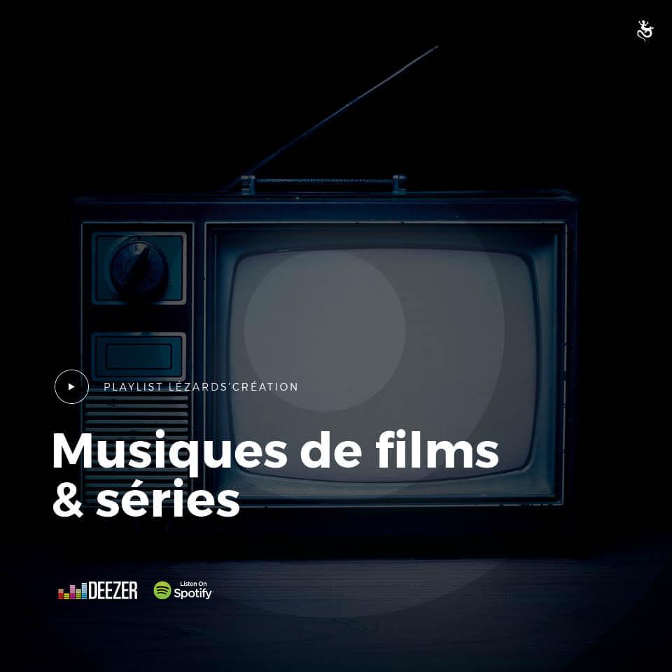 Musiques de films & sériespar Lézards Création agence de communication grand est