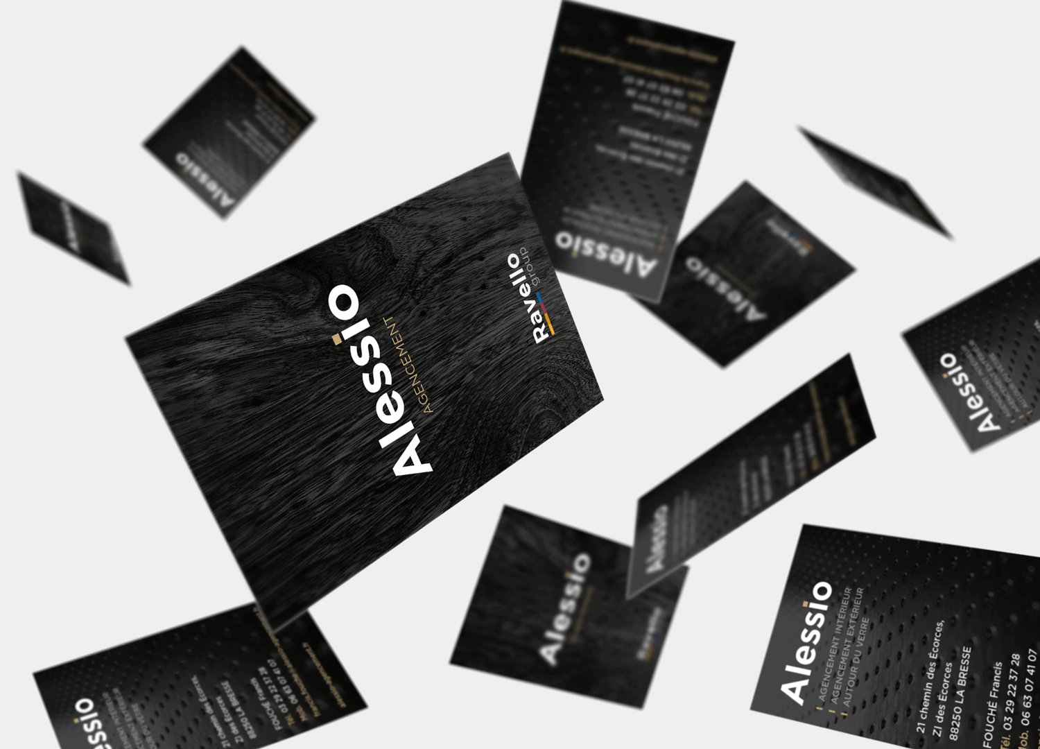 business card mockup copie