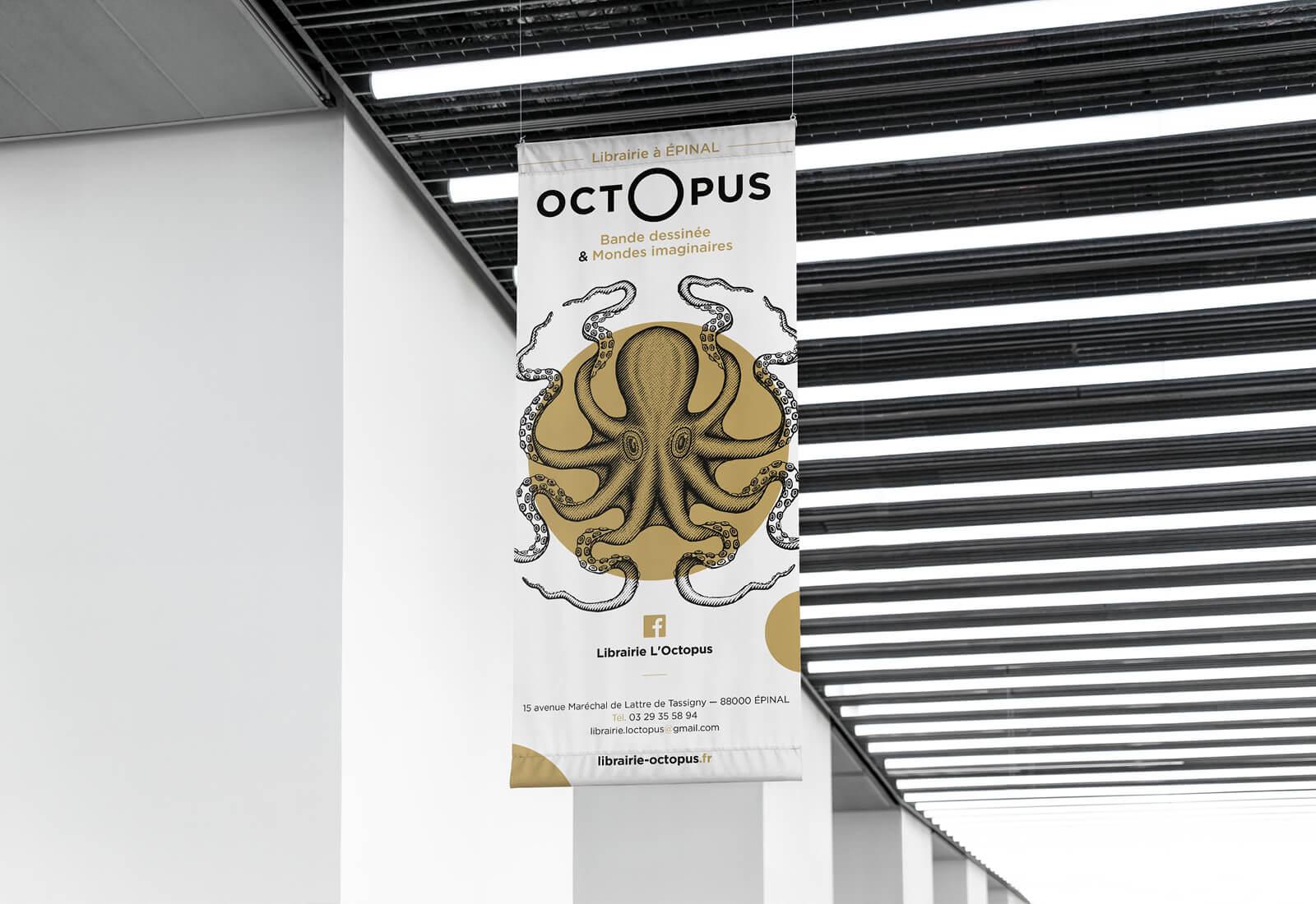 libraire octopus