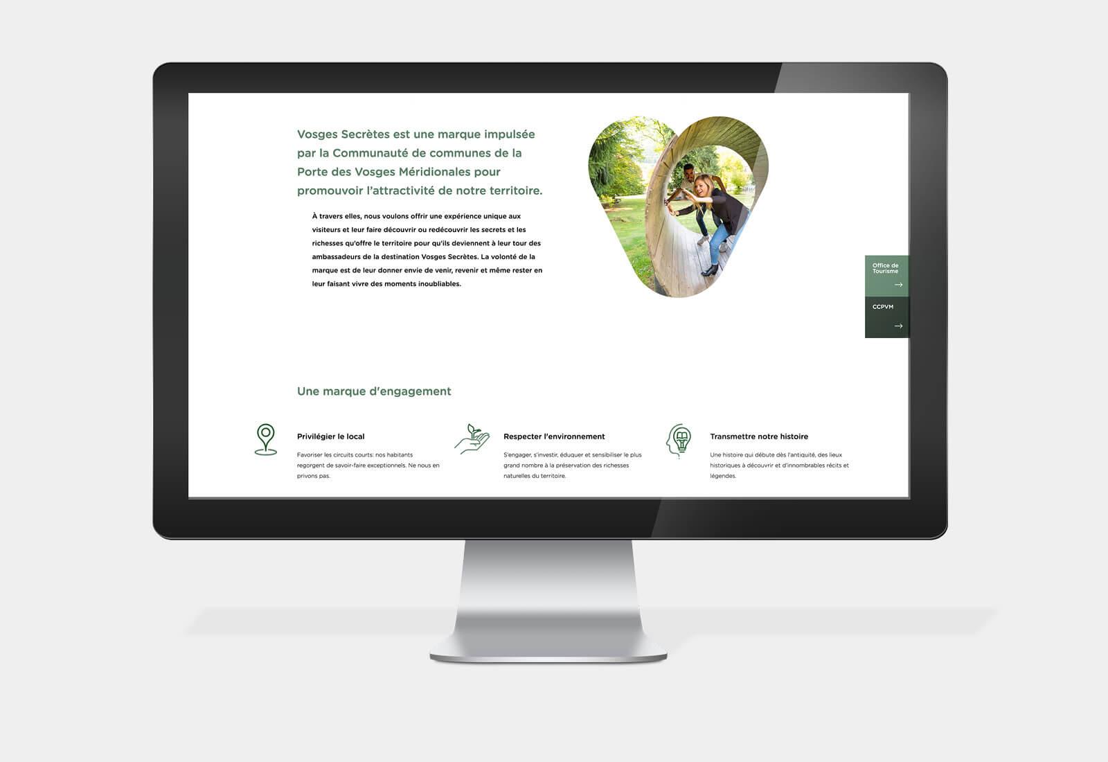 lezardscreation agence communication publicite vosges remiremont vosges secretes vosges secretes site