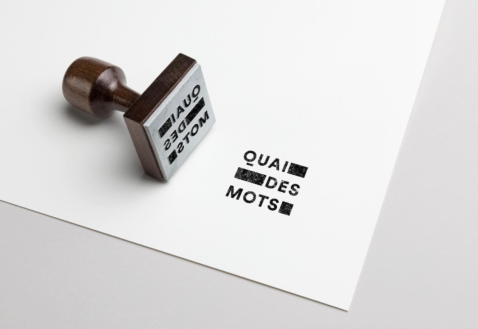 lezardscreation agence communication publicite vosges remiremont quai des mots lezards creation quai des mots tampon