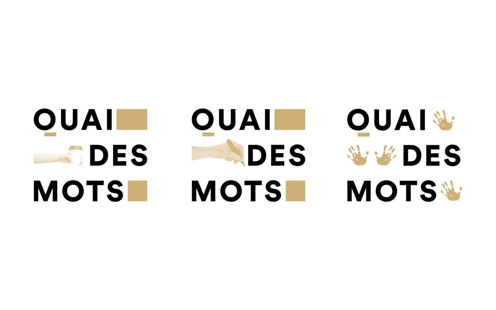 lezardscreation agence communication publicite vosges remiremont quai des mots lezards creation quai des mots identite