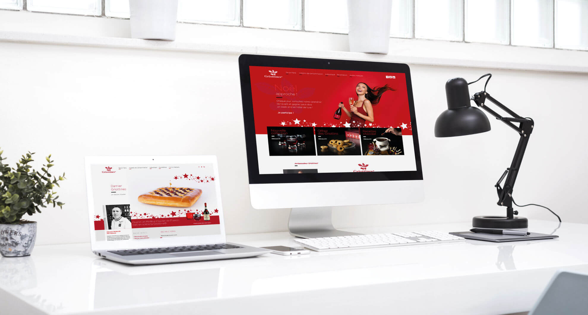 lezardscreation agence communication publicite vosges remiremont griottines® mockup griottines
