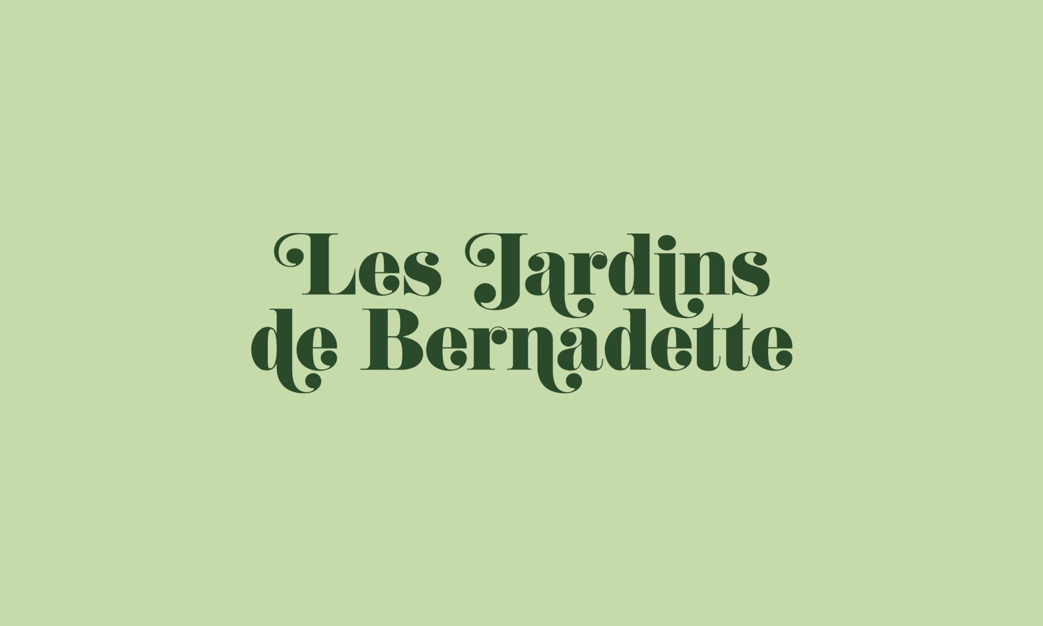 lezardscreation agence communication publicite vosges remiremont les jardins de bernadette les jardins de bernadette lezards creation logo plan de travail