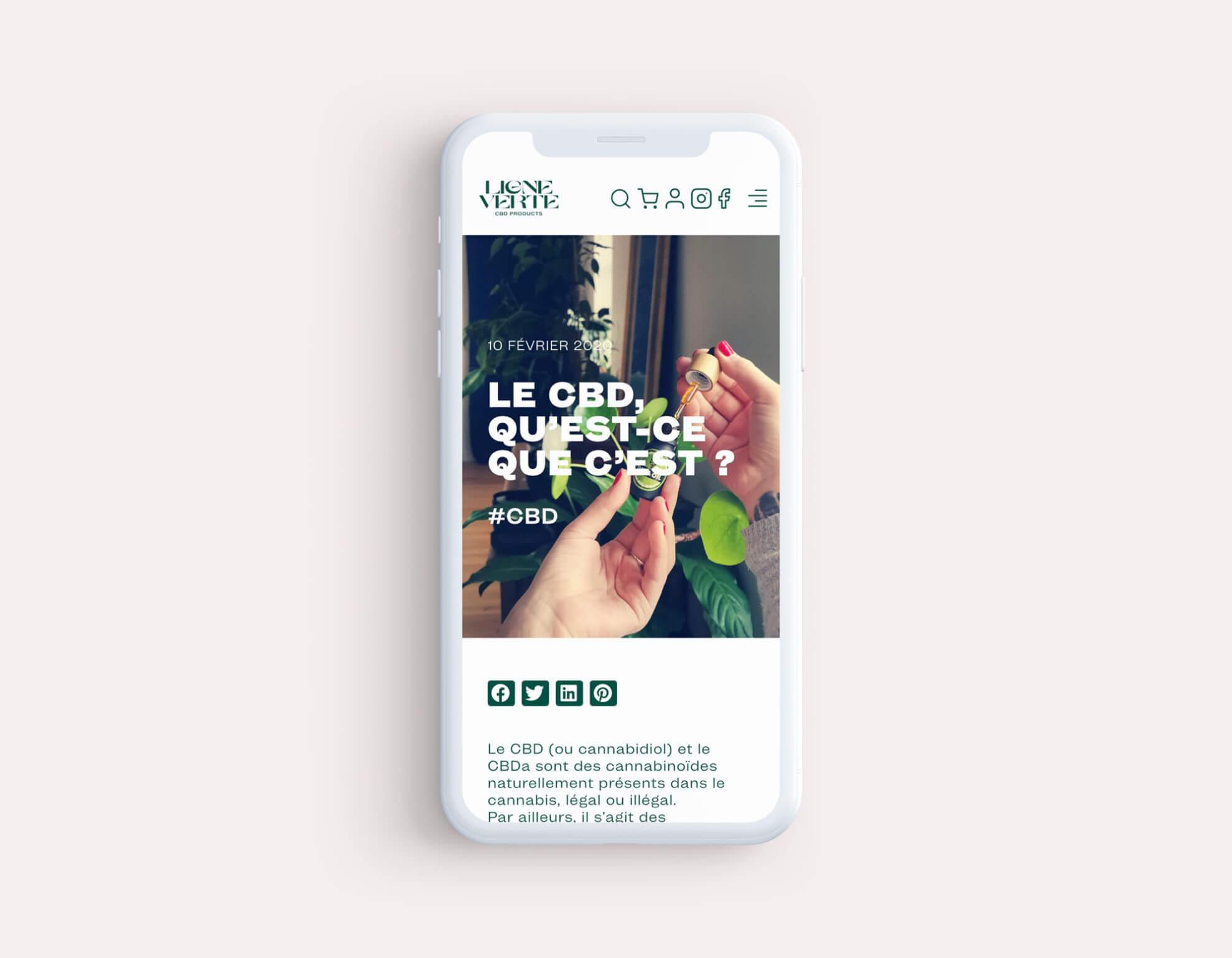 lezardscreation agence communication publicite vosges remiremont lignevertecbd lv