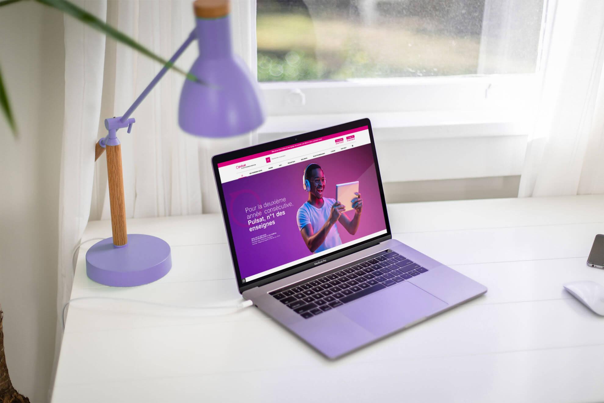 lezardscreation agence communication publicite vosges remiremont pulsat mockup macbook