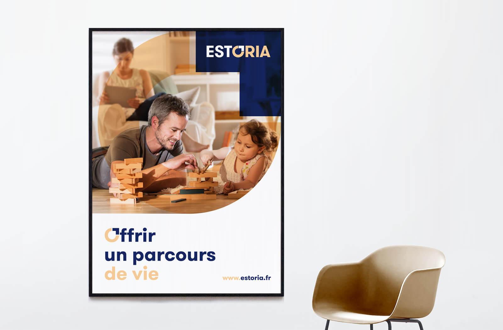 lezardscreation agence communication publicite vosges remiremont estoria lezards creation estoria affiche