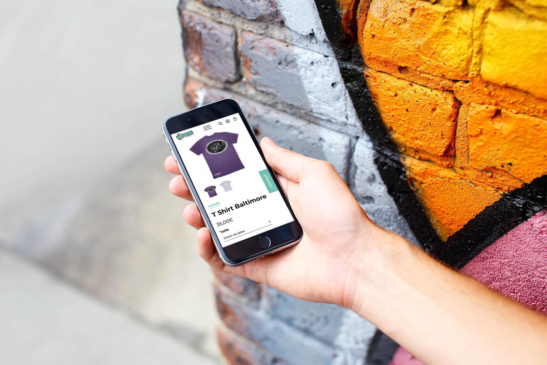 lezardscreation agence communication publicite vosges remiremont omer omer produit t shirt baltimore (iphone )