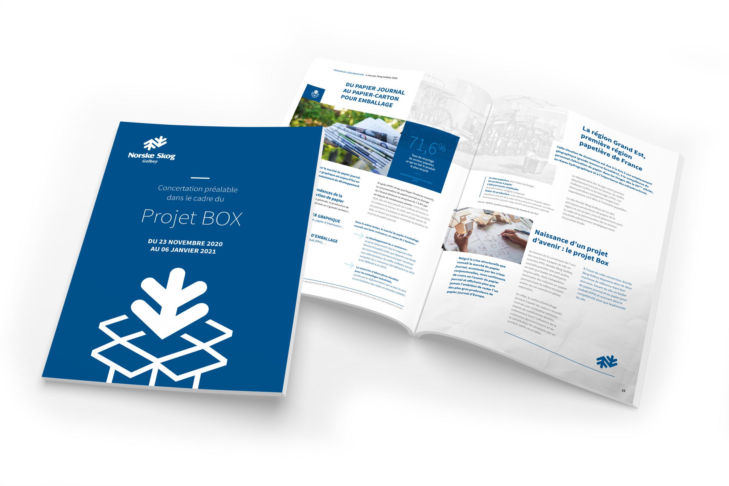 lezardscreation agence communication publicite vosges remiremont norske skog mockup nsg