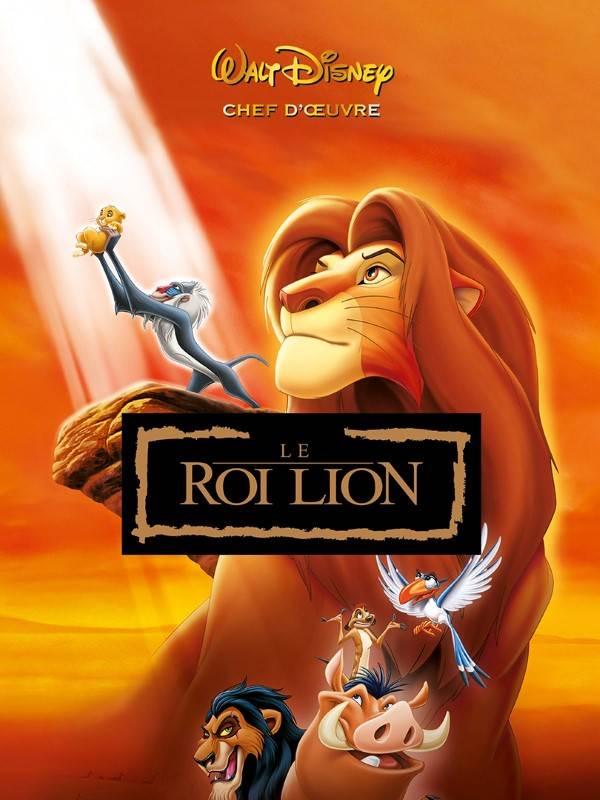 le roi lion, visuel vod