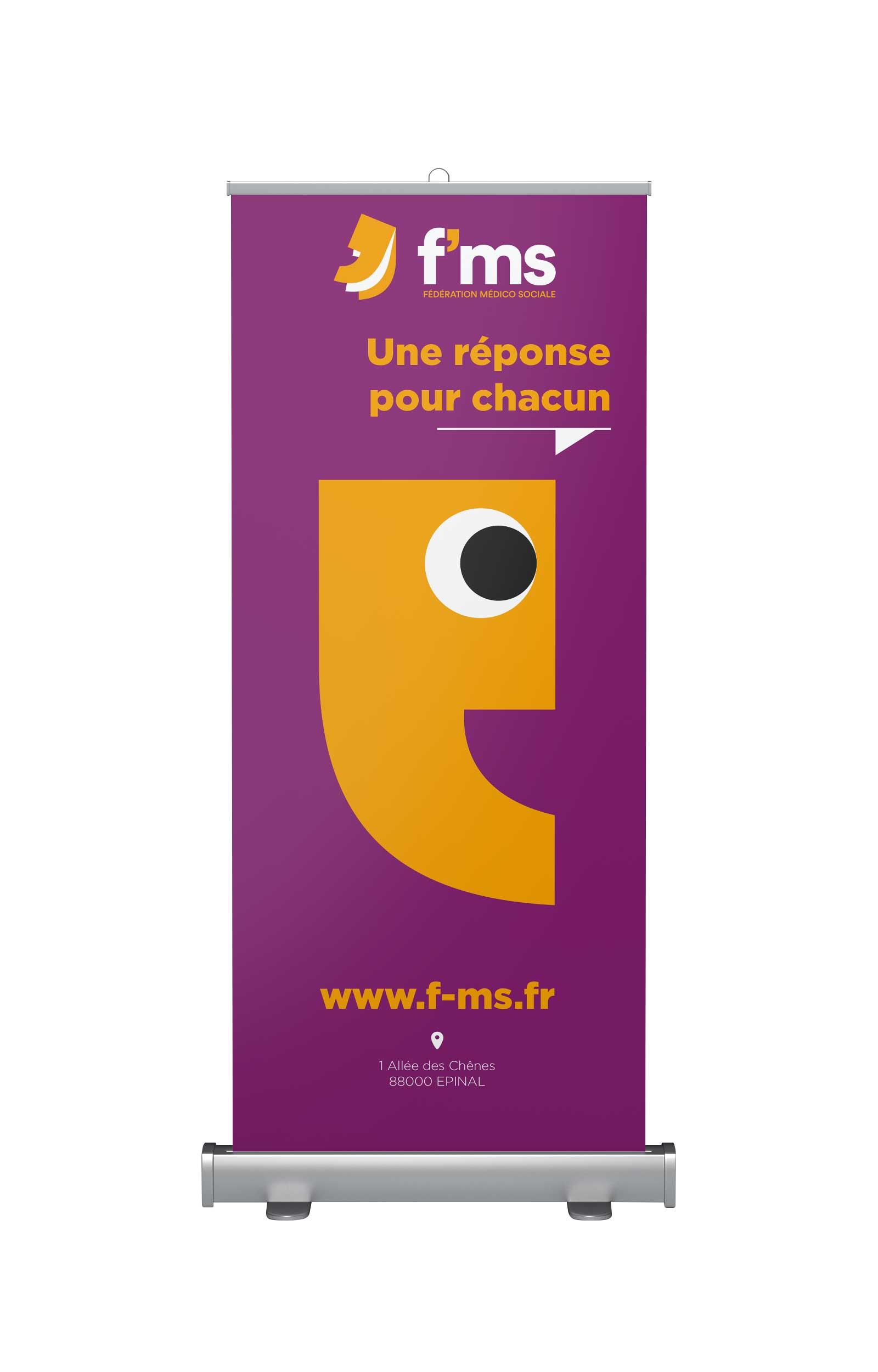 lezardscreation agence communication publicite vosges remiremont fms fms rollup front x