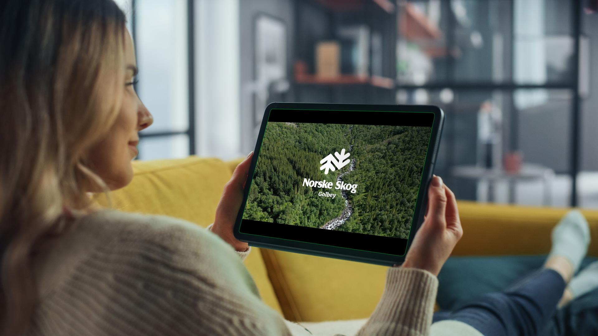 Norske Skog Golbey – Film de présentation trophée de la transition écologique, Lézards Création création sites internet grand est
